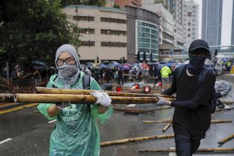Neue Ausschreitungen in Hongkong