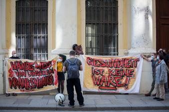 Kampf ums Krankenhaus Dresden-Neustadt