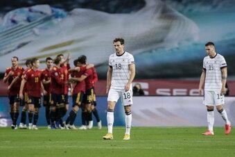 Deutschland erlebt 0:6-Debakel in Spanien