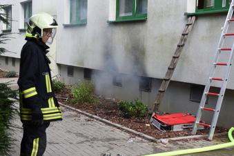 Kellerbrand in Döbeln: Polizei ermittelt wegen Brandstiftung