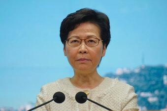 Hongkong: US-Sanktionen gegen Lam