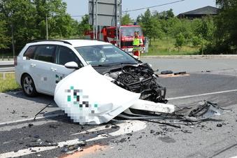 Schwerer Unfall auf S 85
