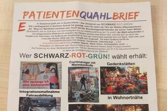 Illegale AfD-Werbung in Meißen?
