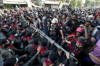 Festnahmen nach Protest in Bangkok