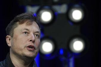 Elon Musk auf Blitzbesuch in Grünheide