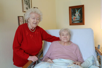 Königsbrück: Zwillingsgeburtstag im Pflegeheim