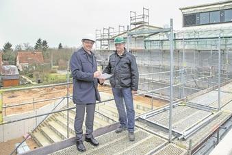 Gymnasium Wilsdruff wird später fertig