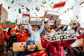 Geschenkaktion für arme Kinder startet