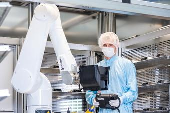 Roboter aus Dresden bekommen mehr zu tun