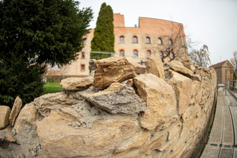 Stadtmauer wird wieder schön
