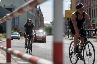 Fahrradklimatest: Freital nur mittelmäßig