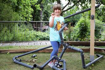 Tierpark Riesa hat jetzt eine Murmelbahn