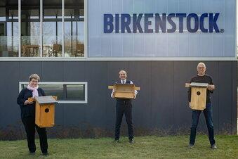 Birkenstock saniert Industriebrache