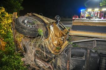 Schwerer Unfall auf der A 4 bei Bautzen