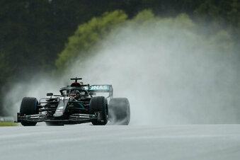 Hamilton meisterhaft im Regen