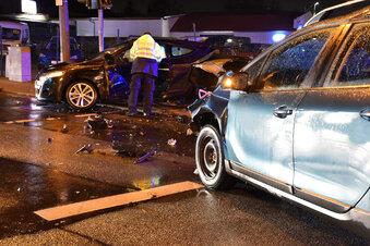 Unfall nach Vorfahrtsfehler