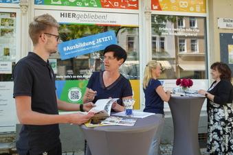 Bautzen: Ausbildungsbörse im Schaufenster