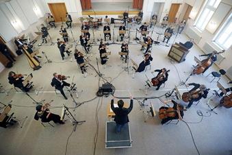 Orchester-Konzert mitten im Lockdown