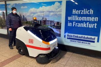 """Bei der Bahn putzt jetzt """"Manni"""""""