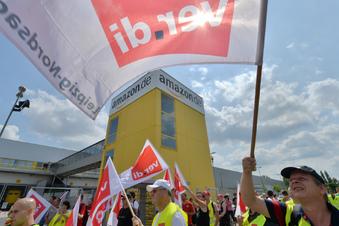 Mehrtägiger Streik bei Amazon in Leipzig