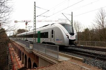 In Heiligenborn: Neue Technik auf altem Eisenbahnviadukt