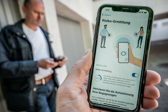 Viele Sachsen haben Zweifel an Corona-App