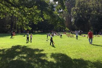 Kreativtag zieht viele Besucher in den Park