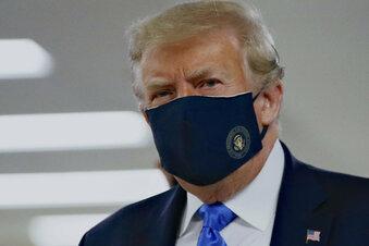 Trump wirbt jetzt doch für Masken