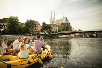 Mit dem Boot durch die Görlitzer Altstadt