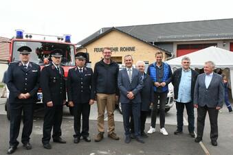 Rohne hat ein neues Feuerwehr-Gerätehaus