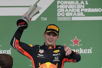 Verstappen triumphiert in Brasilien