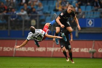 Dynamo entführt einen Punkt aus Hamburg