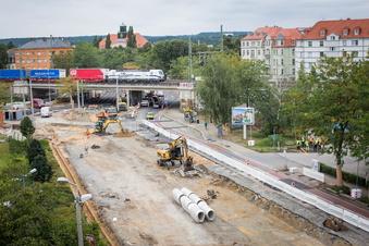 Dresdner bekommen ein Stück Straßenbahnstrecke zurück
