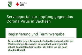So funktioniert Sachsens Impfportal