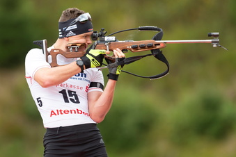 Strelow läuft bei der Biathlon-DM wie erwartet hinterher