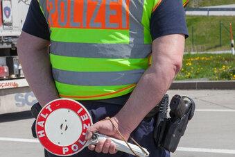 Ortsschild von Ostritz gestohlen