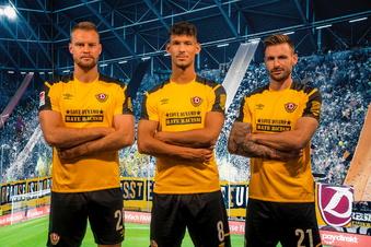 Dynamos Botschaft fürs Heimspiel gegen Nürnberg