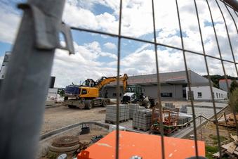 Pirna: Neue Halle für Paletten-Hersteller wächst