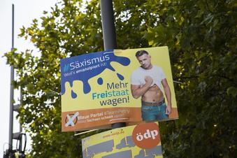 Zehn Kuriositäten der Sachsen-Wahl