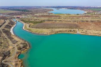 Seen nahe Leipzig gesperrt
