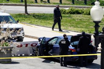 Angreifer tötet Polizist am Kapitol