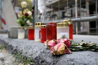 Messerattacke in Dresden: Täter wohl weiter gefährlich