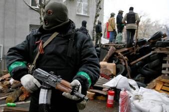Blutige Kämpfe erschüttern Ukraine