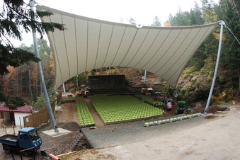 Theater sagt Gastspiele auf der Waldbühne Jonsdorf ab