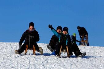 Wintersport-Paradies Moritzburg