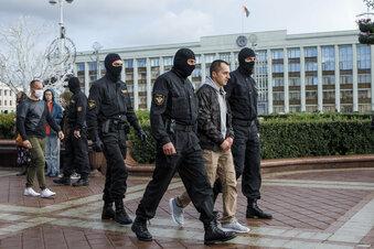 Mehr als 200 Festnahmen in Minsk