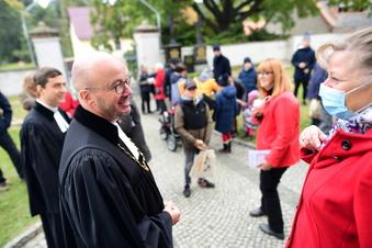 Bischof in Dittersbach zu Gast