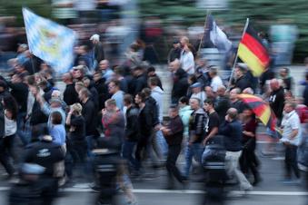 Rechtsextreme Provokationen in Dresden