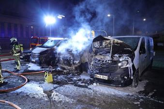 Dresden: Autobrände häufen sich