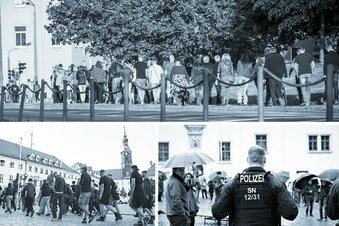 Seit Pandemiebeginn kreisweit 30 Proteste